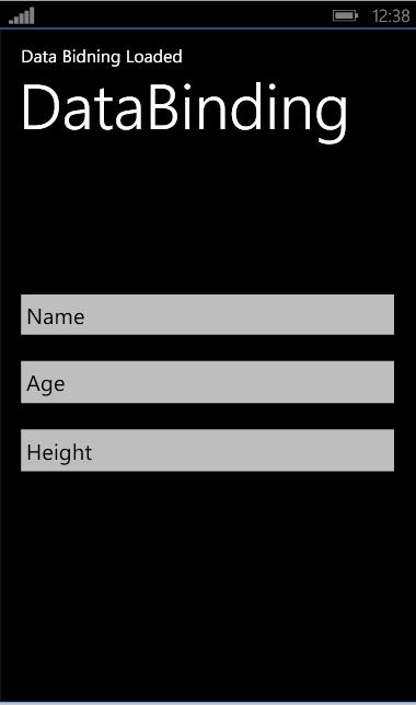 DataBindingSimple1